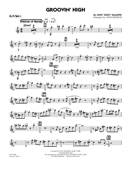 Jazz standards sheet music alto sax robert wells quot for Classic house track with saxophone