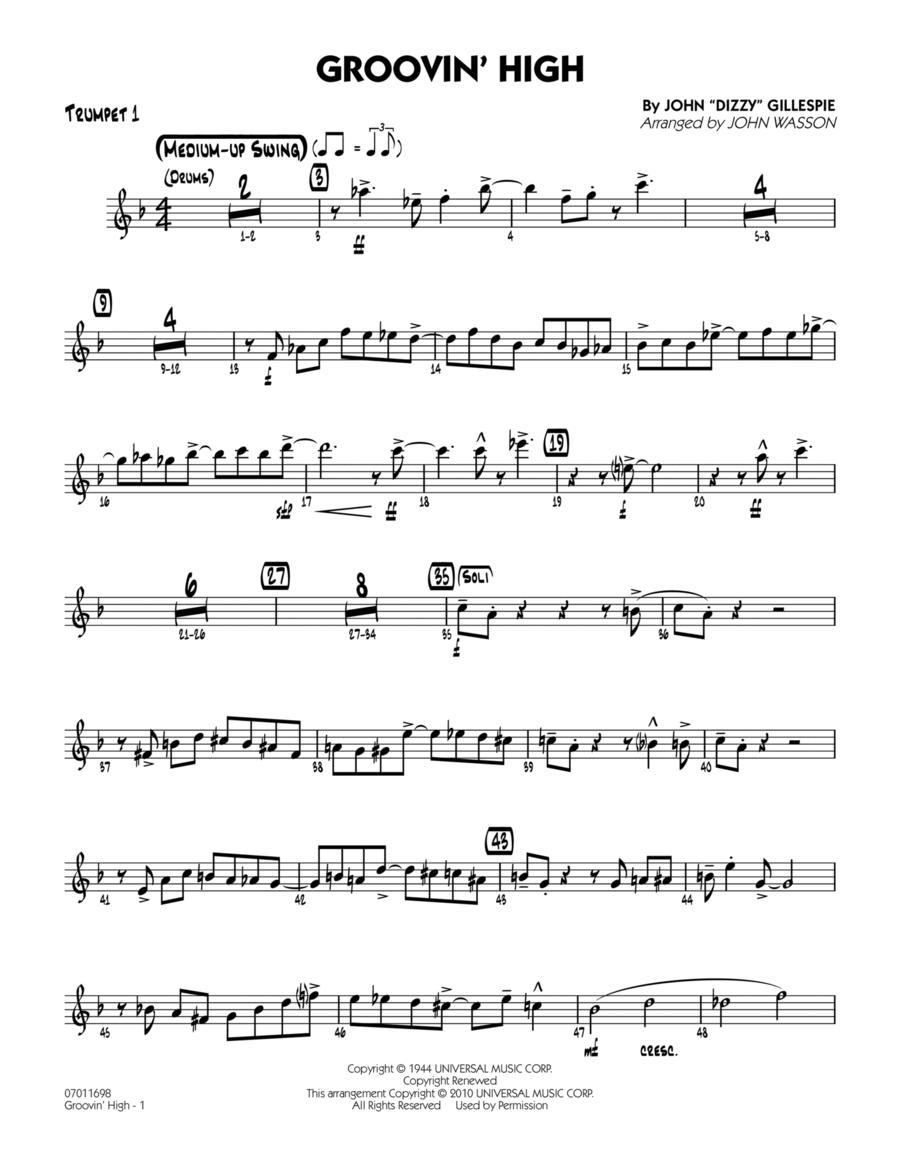 Groovin' High - Trumpet 1