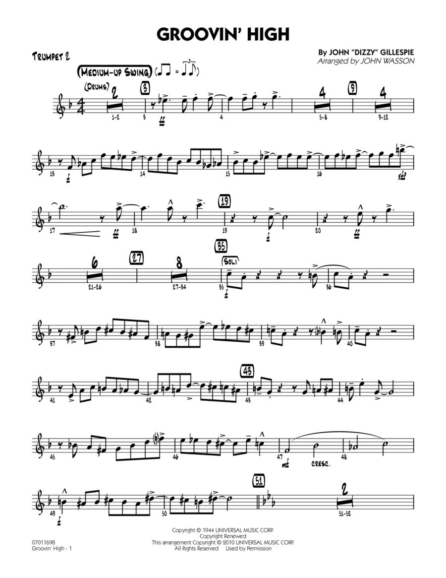 Groovin' High - Trumpet 2