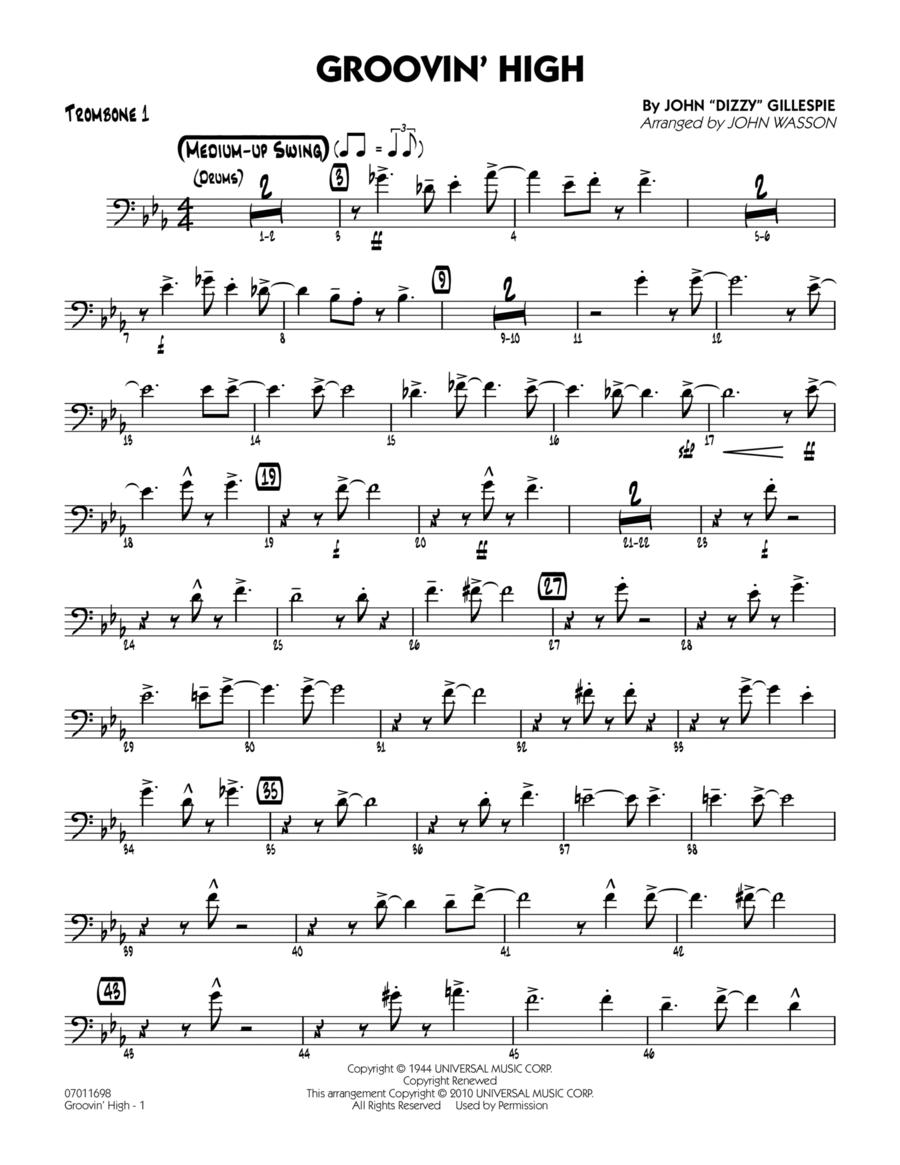 Groovin' High - Trombone 1