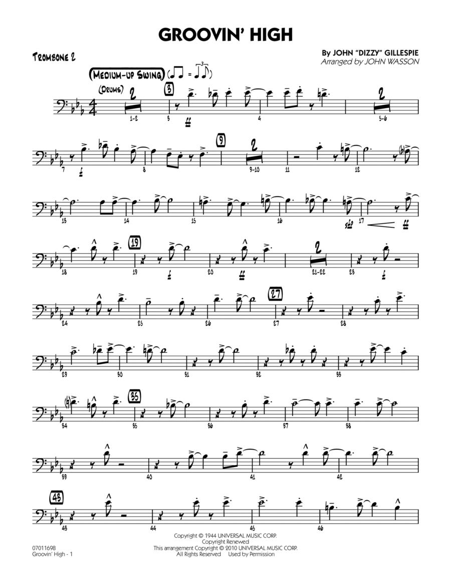 Groovin' High - Trombone 2