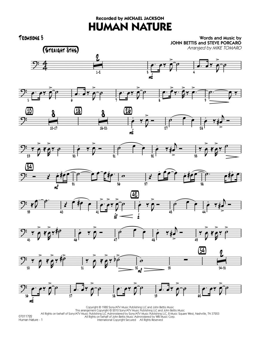 Human Nature - Trombone 3