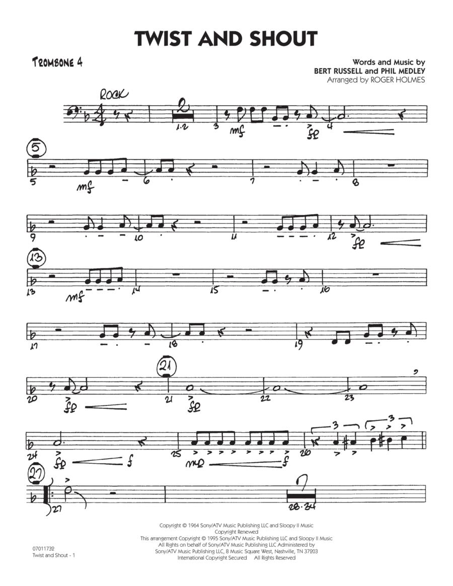 Twist And Shout - Trombone 4