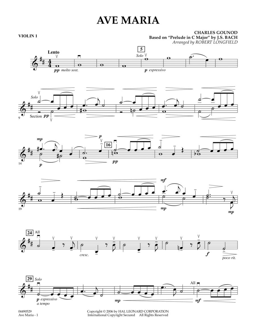 Ave Maria - Violin 1