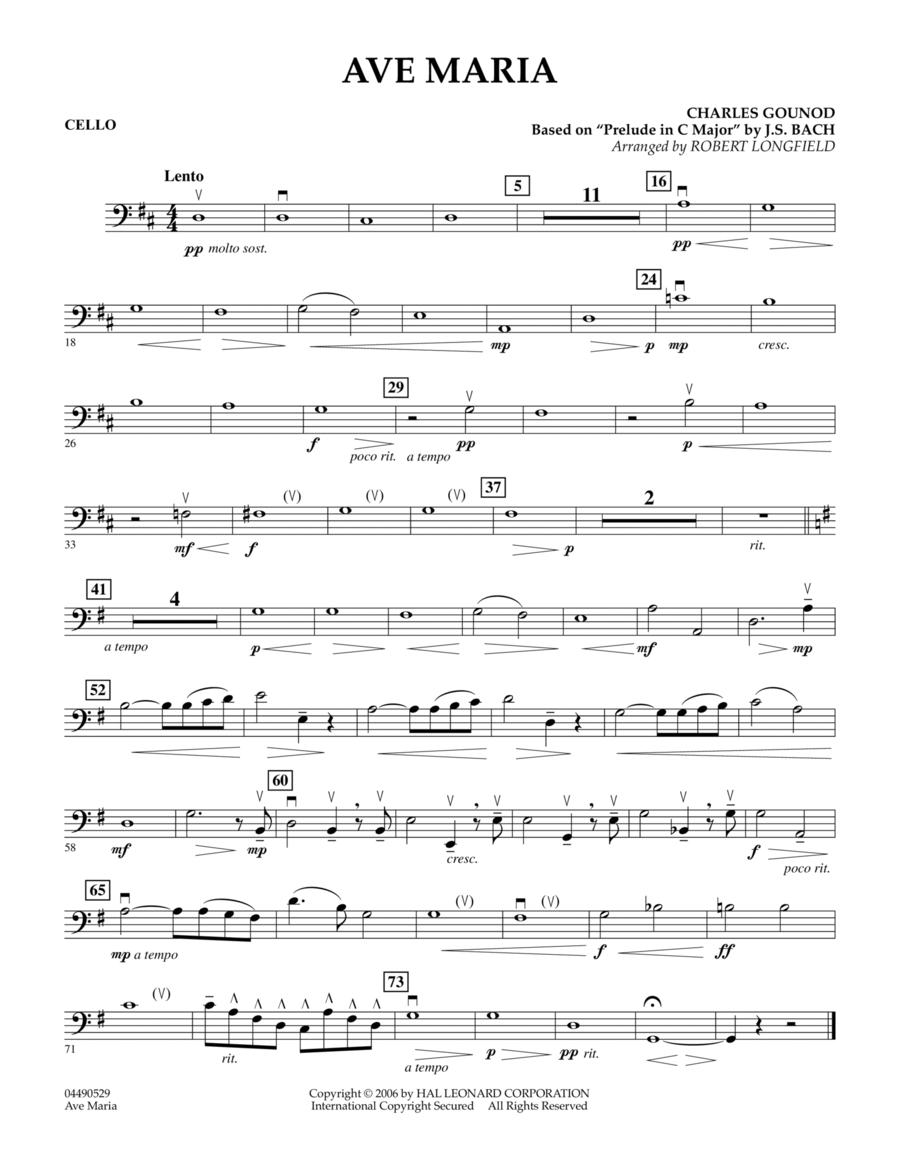 Ave Maria - Cello