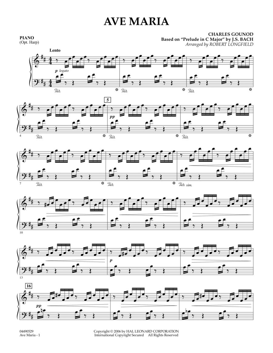 Ave Maria - Piano