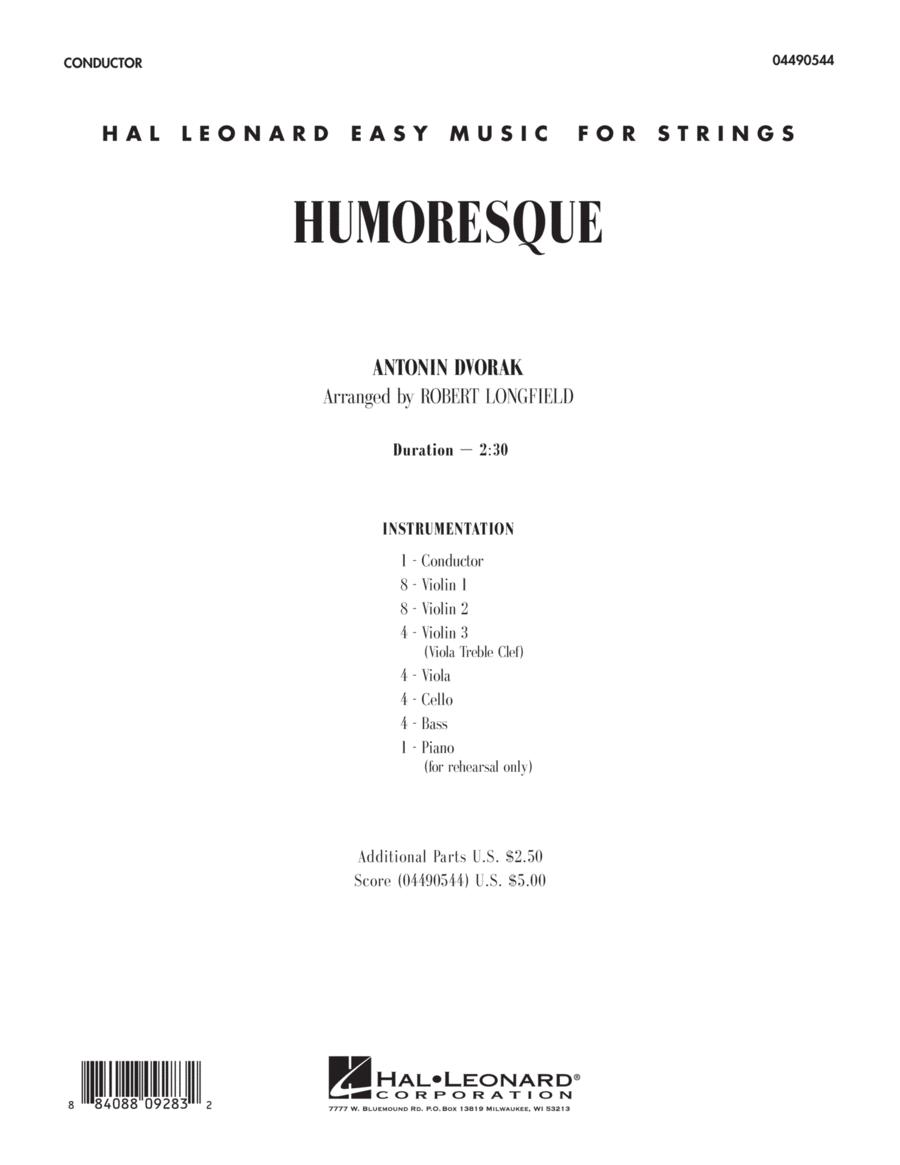 Humoresque - Full Score