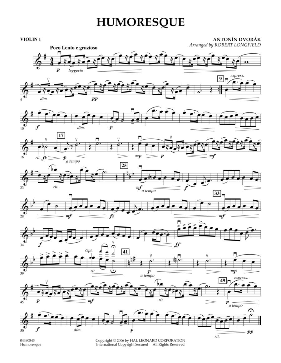 Humoresque - Violin 1
