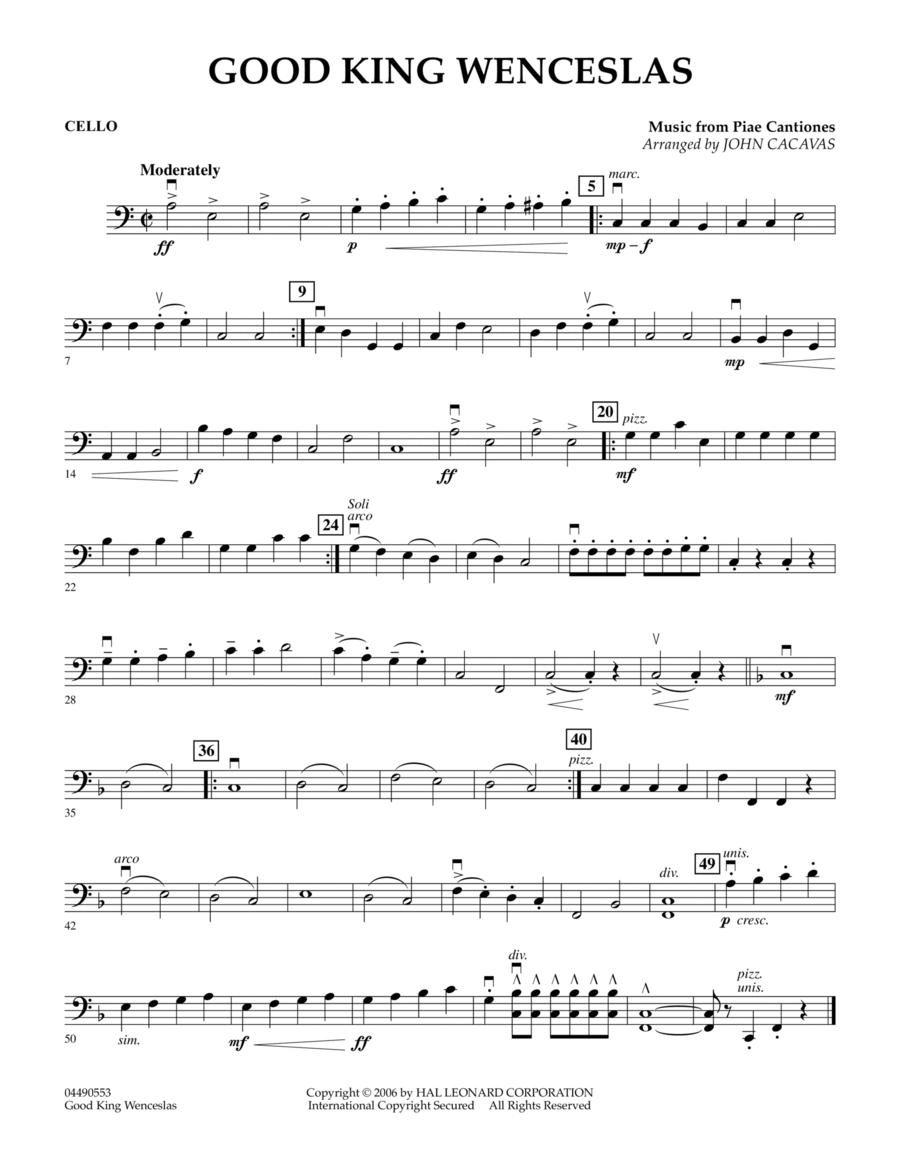 Good King Wenceslas - Cello
