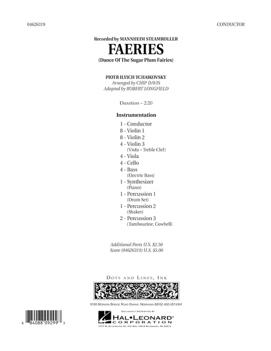 Faeries (from The Nutcracker) - Full Score