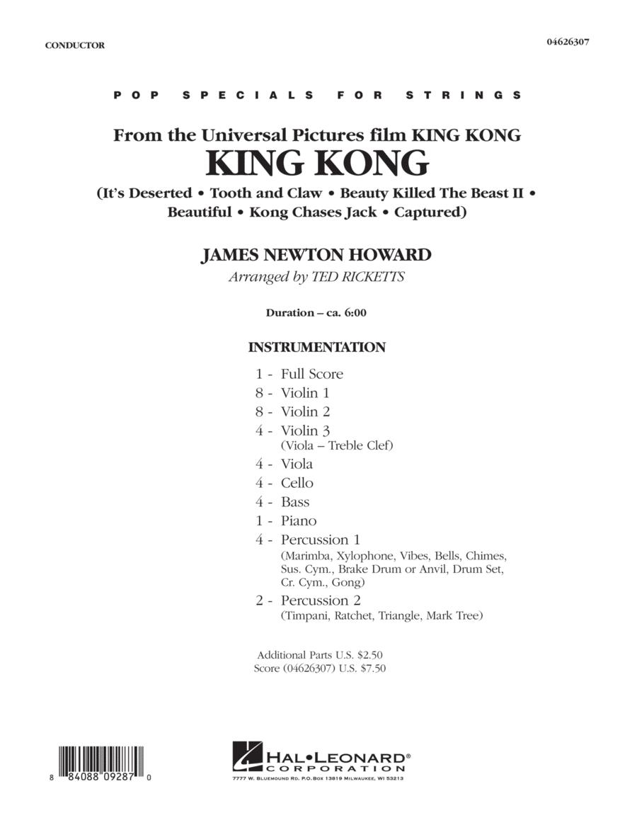 King Kong - Full Score