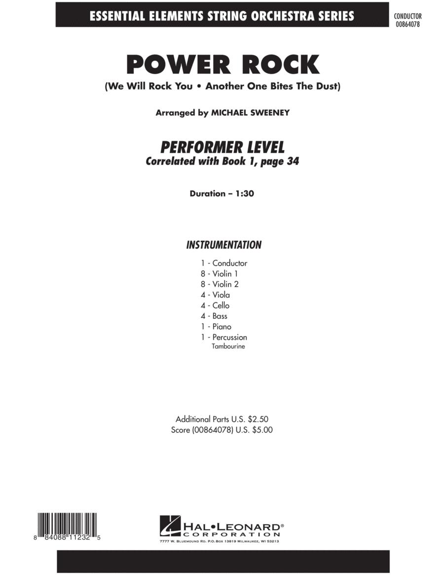 Power Rock - Full Score