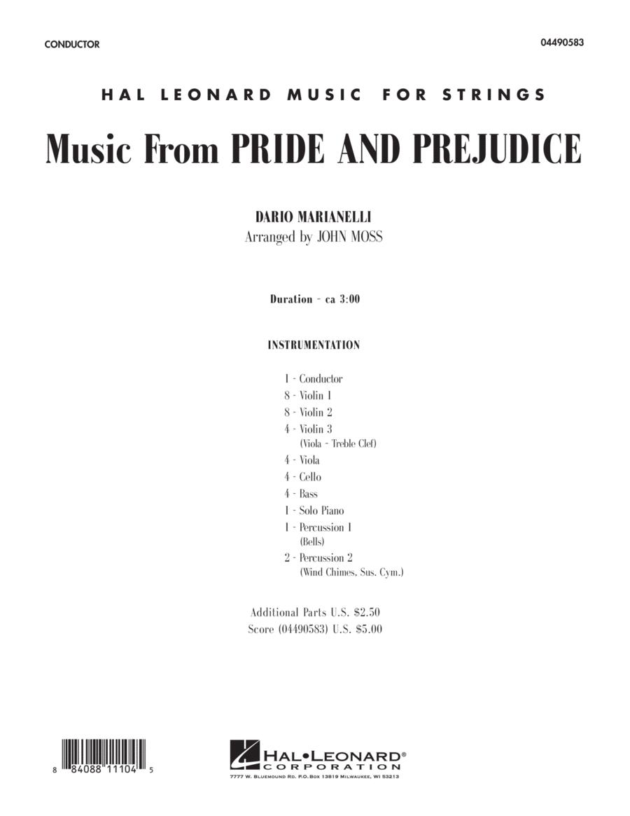 Music from Pride & Prejudice - Full Score