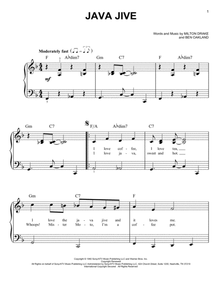 bye bye black bird sheet music pdf