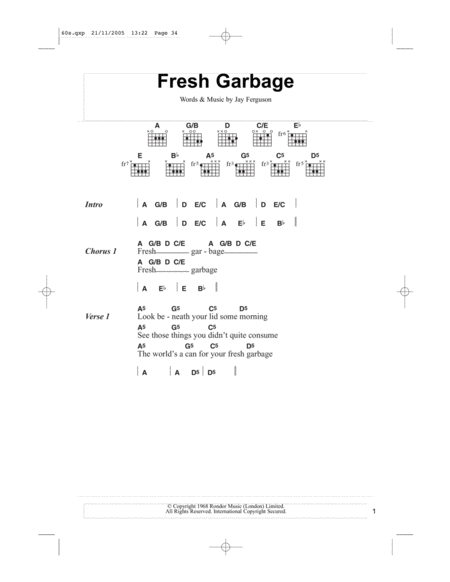 Fresh Garbage