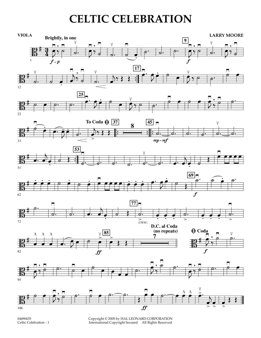 Celtic Celebration - Viola