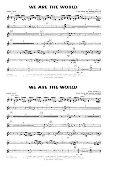 We Are The World - Bells/Vibes