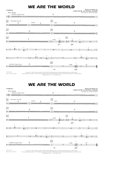 We Are The World - Cymbals