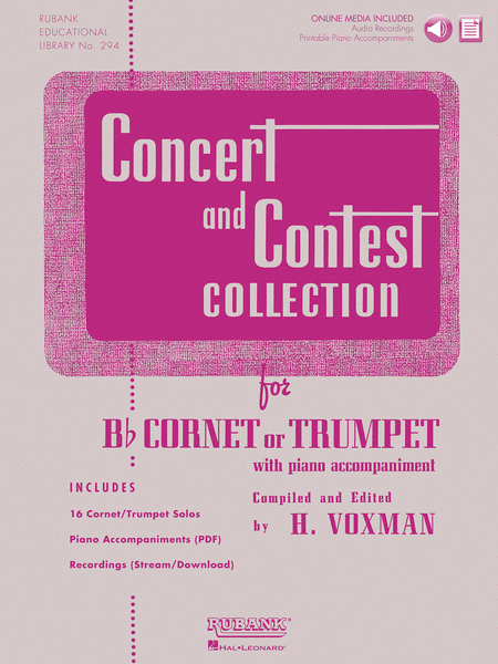 Concert and Contest Collection for Bb Cornet or Trumpet