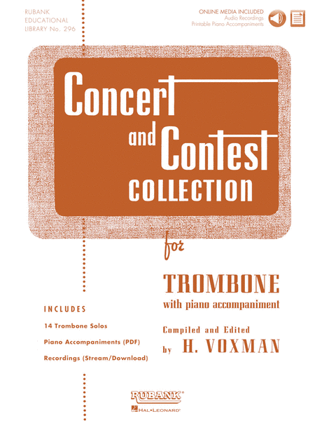 Concert and Contest Collection for Trombone