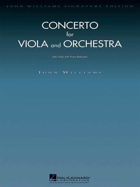 Concerto for Viola and Orchestra