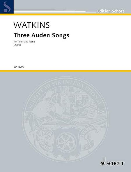 Three (3) Auden Songs For Tenor And Piano