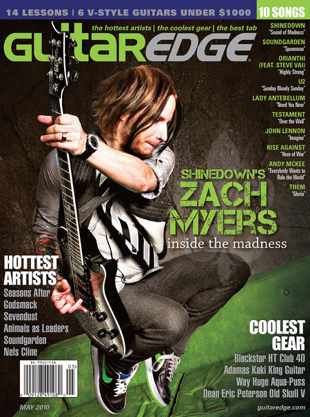 Guitar Edge Magazine Back Issue - May 2010