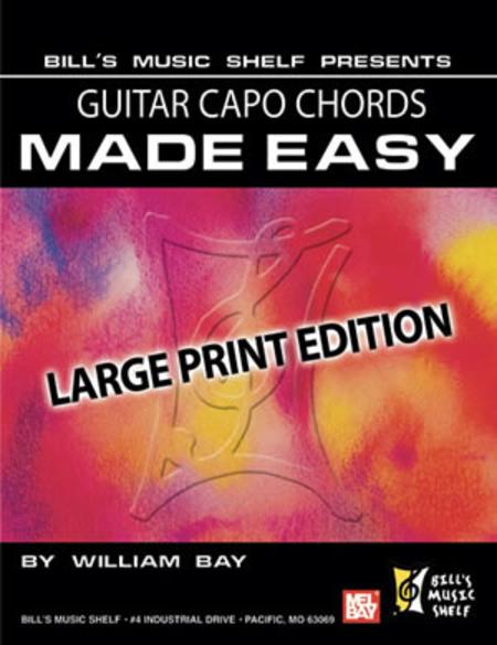 Guitar Capo Chords Made Easy