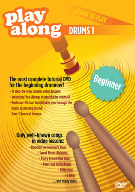 Playalong DVD - Learn to Play Drums 1