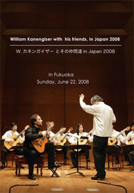 William Kanengiser with His Friends in Japan 2008