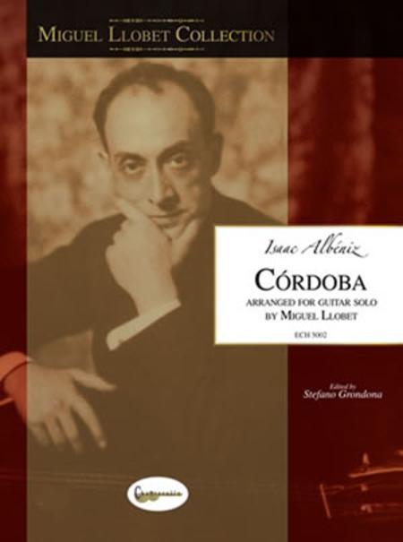 Miguel Llobet Collection: Isaac Albeniz Cordoba