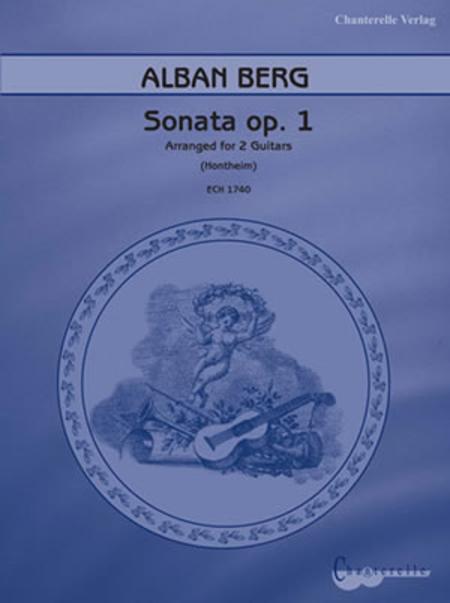 Alban Berg Piano Sonata Op. 1
