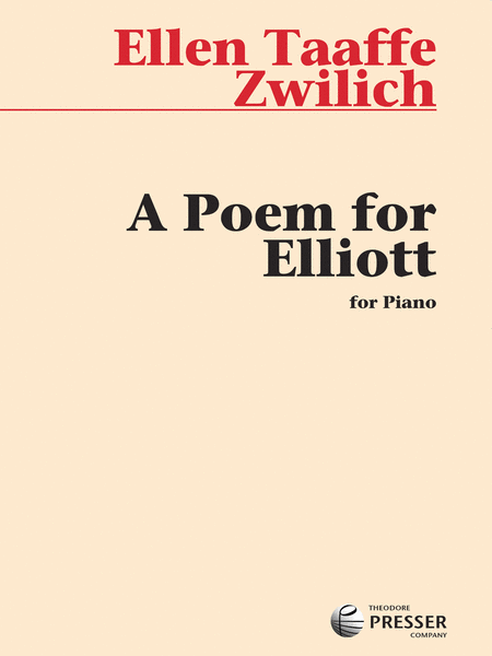 A Poem for Elliott