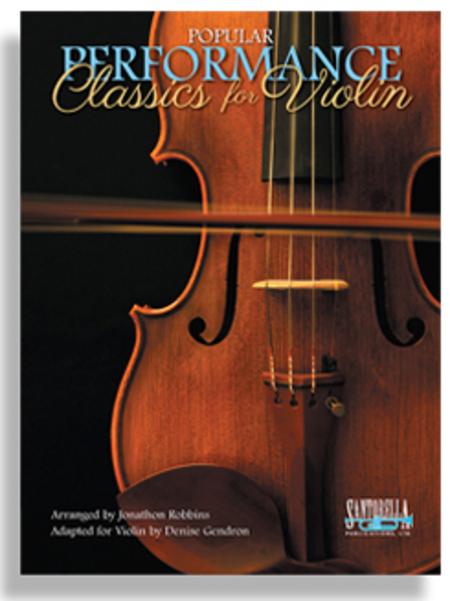 Popular Performance Classics for Violin