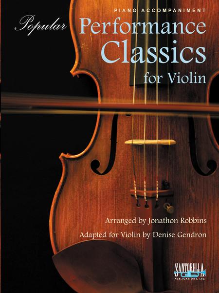 Popular Performance Classics for Violin * Piano Accompaniment