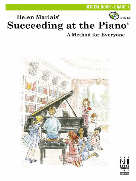 Succeeding at the Piano! , Recital Book - Grade 1 (with CD)