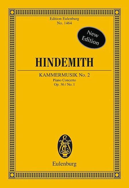 Kammermusik No. 2 Op. 36 No. 1 (Chamber Music No. 1)