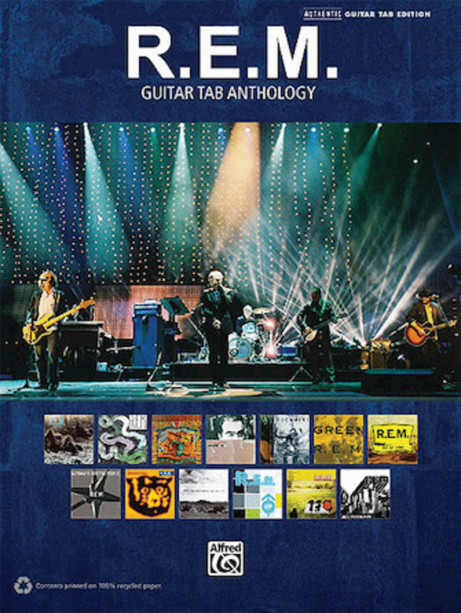 R.E.M. - Guitar Tab Anthology