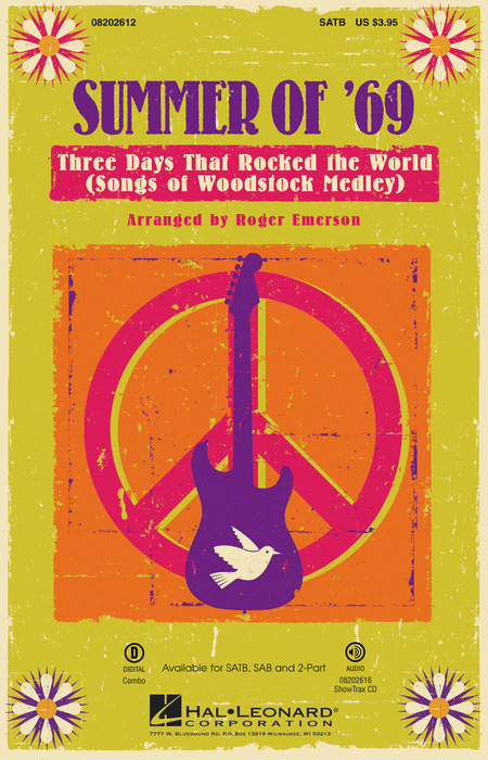 Summer of '69 - Three Days That Rocked the World - ShowTrax CD