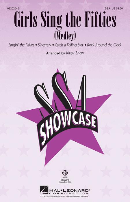 Girls Sing the Fifties - ShowTrax CD