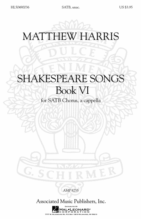 Shakespeare Songs, Book VI