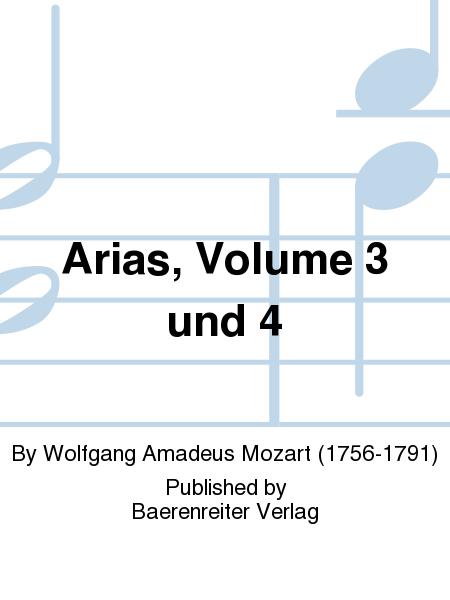 Arias, Volume 3 und 4