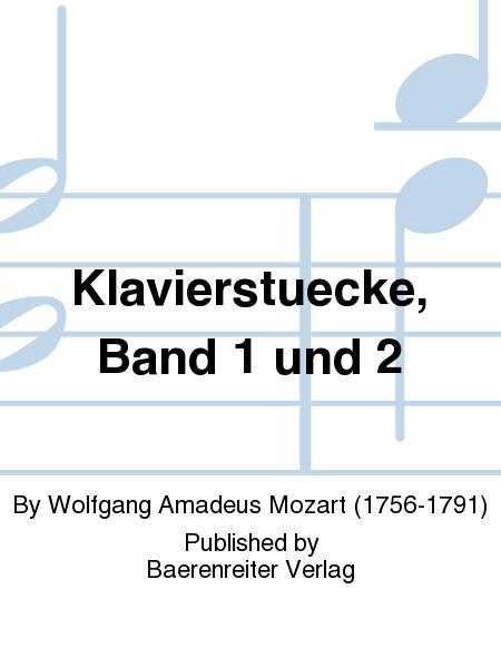 Klavierstuecke, Band 1 und 2