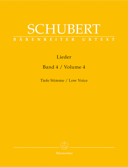 Lieder, Volume 4