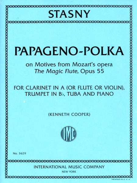 Papageno-Polka, on Motives from Mozart's