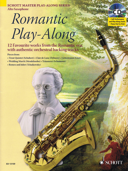 Romantic Play-Along for Alto Saxophone
