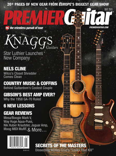 Premier Guitar Magazine Back Issue - May 2010