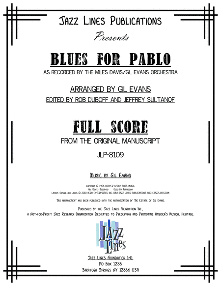 Blues For Pablo