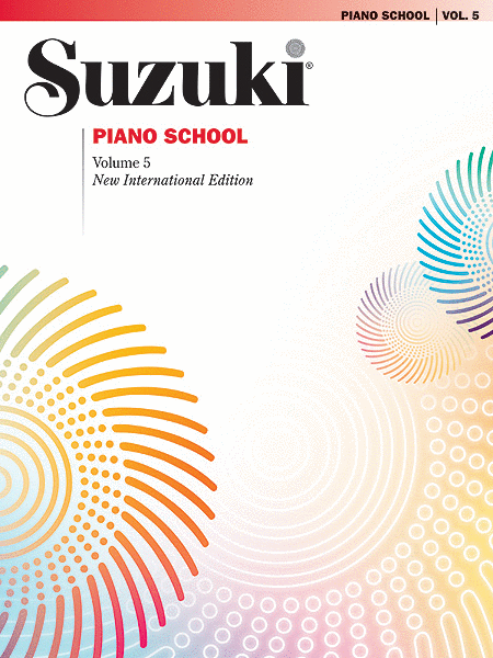 Suzuki Piano School, Volume 5