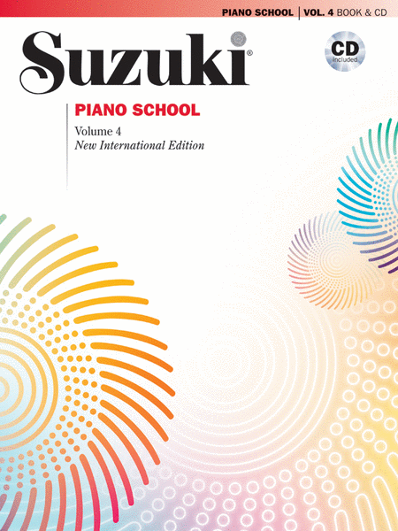 Suzuki Piano School, Volume 4